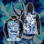 Dragon Ball - Goku Ultra Instinct Unisex 3D Hoodie