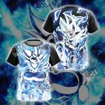 Dragon Ball - Goku Ultra Instinct Unisex 3D T-shirt