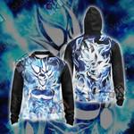 Dragon Ball - Goku Ultra Instinct Unisex Zip Up Hoodie Jacket