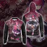 Fate/ExtraCCC - Lancer Unisex Zip Up Hoodie Jacket
