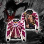 One Piece - Luffy Unisex Zip Up Hoodie Jacket