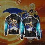 Sword Art Online - Alice Schuberg Unisex 3D Zip Up Hoodie Jacket
