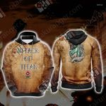 Attack On Titan - Military New Unisex 3D Hoodie