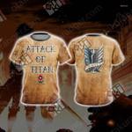 Attack On Titan - Survey New Unisex 3D T-shirt