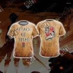Attack On Titan - Garrison New Unisex 3D T-shirt