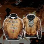 Attack On Titan - Trainee New Unisex 3D Hoodie