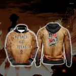 Attack On Titan - Garrison New Unisex 3D Hoodie