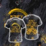 Money can't buy Riding Skills Unisex 3D T-shirt