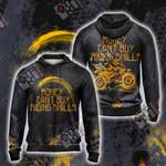Money can't buy Riding Skills Unisex Zip Up Hoodie Jacket