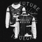 The Future Is Vegan Zip Up Hoodie