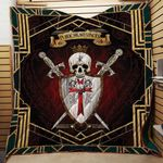 Christian - In Hoc Signo Vinces 3D Quilt Blanket