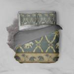 Elephant-Palm Bed Set