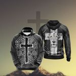 Christian - Fear Not For Jesus The Lion Of Judah Has Triumphed Unisex 3D Hoodie