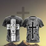 Christian - Fear Not For Jesus The Lion Of Judah Has Triumphed Unisex 3D T-shirt