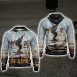 Skateboarding New Style Unisex Zip Up Hoodie Jacket