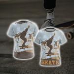 Skateboarding New Style Unisex 3D T-shirt