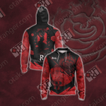 RWBY Ruby Rose New Collection Unisex Zip Up Hoodie