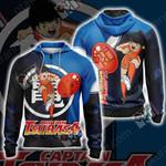 Captain Tsubasa Soccer Dream Unisex Zip Up Hoodie