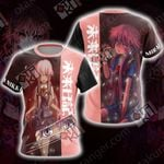 Future Diary Mirai Nikki Unisex 3D T-shirt