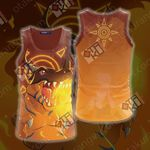 Digimon Greymon 3D Tank Top