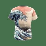 Tsunami Japanese Unisex 3D T-shirt