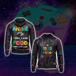 If Its Not Anime Video Games Or Food - Gaming Lovers Unisex Zip Up Hoodie