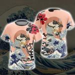 The Kiss Ukiyo Unisex 3D T-shirt