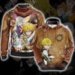 The Seven Deadly Sins Characters 3D Hoodie