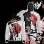 Fist of the North Star Kenshiro Hokuto No Ken Unisex Zip Up Hoodie