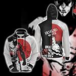 Fist of the North Star Kenshiro Hokuto No Ken Unisex 3D Hoodie