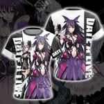 Date A Live Origami and Tooka Unisex 3D T-shirt