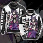 Date A Live Origami and Tooka Unisex 3D Hoodie