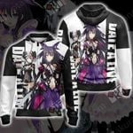 Date A Live Origami and Tooka Unisex Zip Up Hoodie