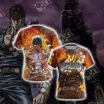 Fist of the North Star Kenshiro New Unisex 3D T-shirt
