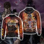 Fist of the North Star Kenshiro New Unisex Zip Up Hoodie