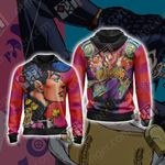 Jojo's Bizarre Adventure - Josuke Unisex Zip Up Hoodie