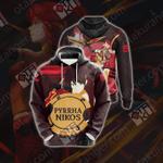 RWBY Pyrrha New Look Unisex 3D Hoodie