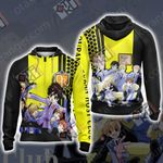Ouran Highschool Host Club Unisex Zip Up Hoodie