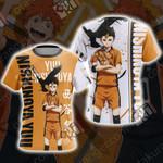 Haikyuu - Nishinoya Yuu Unisex 3D T-shirt
