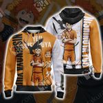 Haikyuu - Nishinoya Yuu Unisex Zip Up Hoodie