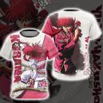 Yu Yu Hakusho Kurama Unisex 3D T-shirt