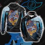 Digimon - Friendship Unisex 3D Hoodie