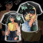 Yu Yu Hakusho Yusuke Urameshi Unisex 3D T-shirt