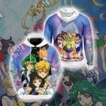 Sailor Moon - Characters Unisex 3D Hoodie