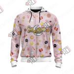 Sailor Moon Kawaii Unisex Zip Up Hoodie