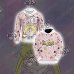 Sailor Moon Kawaii Unisex 3D Hoodie