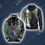 Fairy Tail - Gray Fullbuster Unisex 3D Hoodie