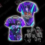 Yu Yu Hakusho - Hiei Unisex 3D T-shirt