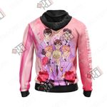 Ouran Highschool Host Club - Haruhi Unisex Zip Up Hoodie