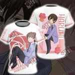 Ouran Highschool Host Club - Haruhi Unisex 3D T-shirt